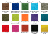 Fleece vlecht _